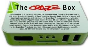 Set Top Box - The Craze Box