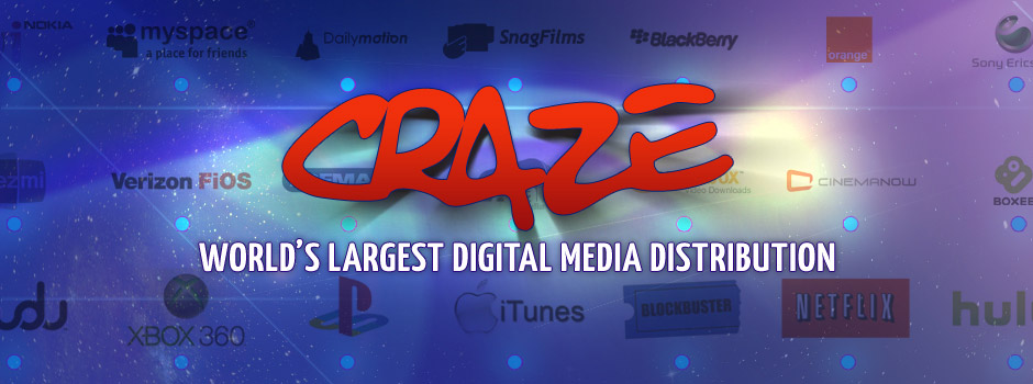 Craze Digital specializes in digital content distribution & content licensing