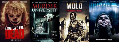 Watch horror movies online: Long Live the Dead, Murder University, Mold, The Sky is Falling